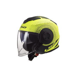 Casco Jet LS2 OF570 VERSO - Amarillo