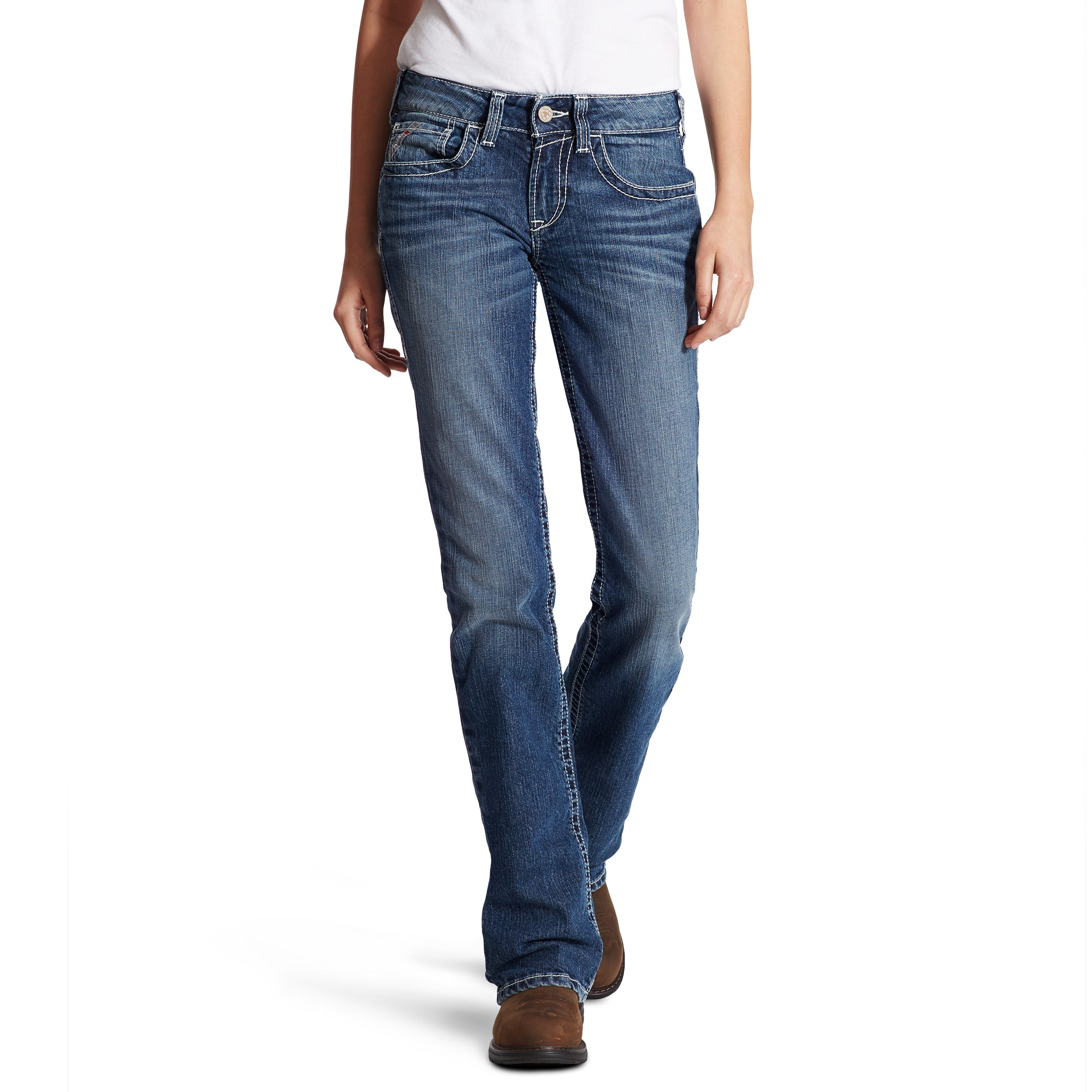 Women's Ariat Work FR Jeans - Oceanside
