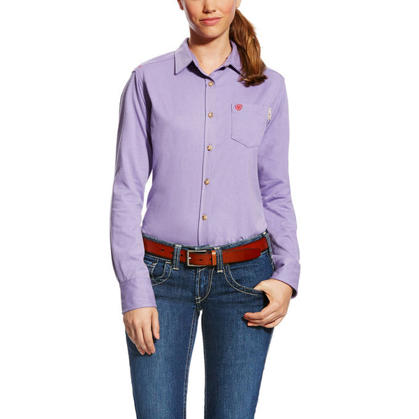 Women's Ariat Work FR Taylor Knit Shirt