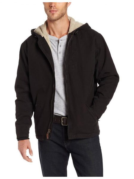 Sherpa Lined Hooded Jacket