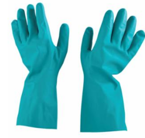 Unsupported Nitrile Gloves