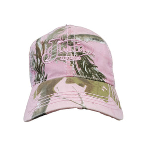 Girls Justin Brand Real Tree Camo and Pink Hat