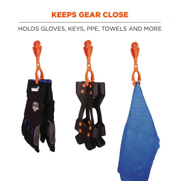 Squids® 3400 Glove Clip Holder - Dual Clips