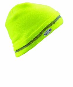 Workman Knit Cap High Viz