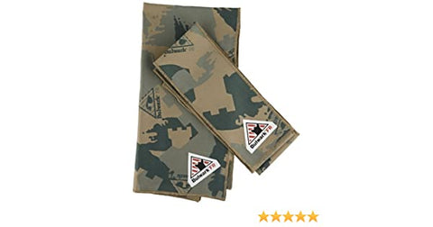 Bulwark Flame Resistant 5.25 oz Cotton FR Camo Bandana and Head Tie