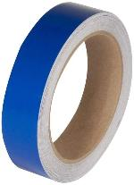 Hard Hat Reflective Strips - Blue