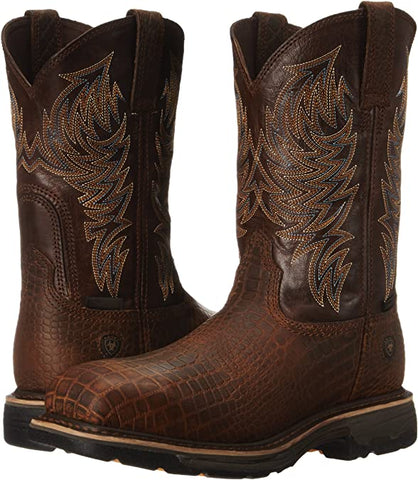 Men's Workhog Composite Work Toe Wide Square Boot