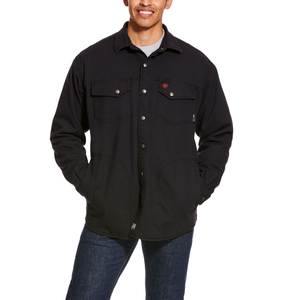 ARIAT FR Rig Shirt Jacket Black