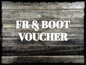 Boot & Flame Resistant Clothing Voucher