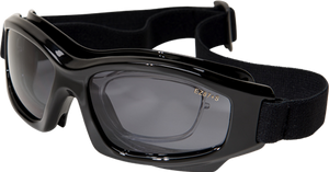 EDGE SPEKE SAFETY GOOGLES - CLEAR