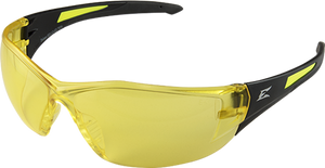 Edge Safety Glasses - Delano G2 Black / Amber