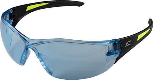 Edge Safety Glasses - Delano G2 Black / Light Blue