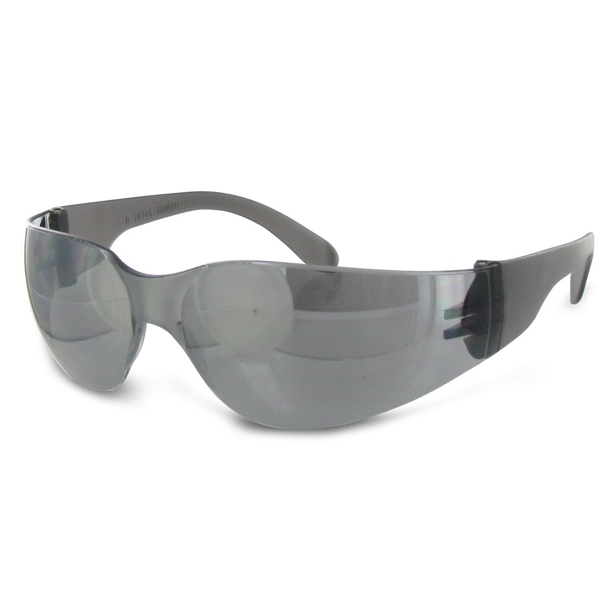 Silver Mirror Safety Glasses