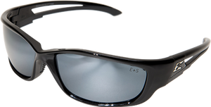 Edge Safety Glasses - Kazbek Silver Mirror XL (Wide)