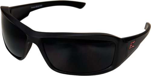 Edge Safety Glasses - Brazeau Black Matte / Smoke