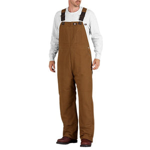 Sanded Duck Insulated Bib Overalls