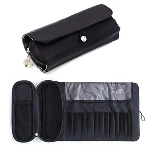 Makeup Brush Holder for Travel Multifunctional -Cosmetic Bags Makeup & Manicure Tools Organizer