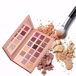 Eye Shadow Makeup Pallet-18 Colors pallet nude beauty- New Nude Eyeshadow