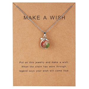 Wish Paper Necklace