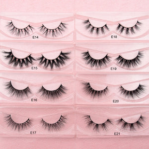 Thick Long Eye Lashes Wispy Makeup Beauty Extension Tools