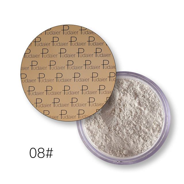 Powder Foundation Brighten Concealer Waterproof Matte Lasting Makeup