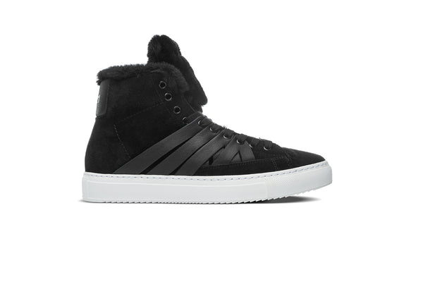 Baadlands Black Shearling