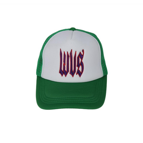 Trucker cap Green&Purple
