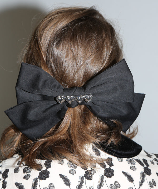 2WAYリボンヘアクリップ/1 0 two way ribbon hair clip