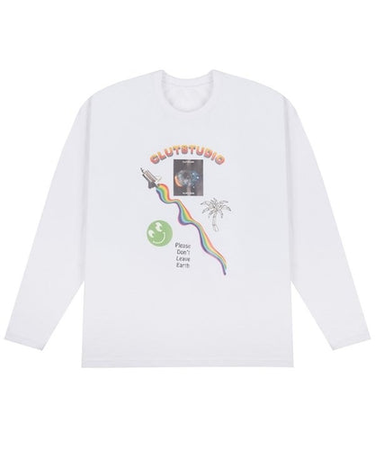 0 2 Alex's brain t-shirt - WHITE