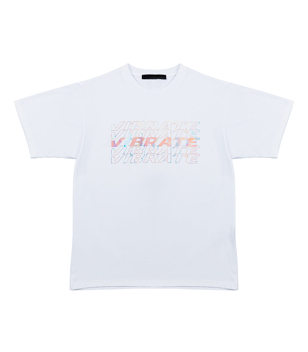 VフラッシュM004Tシャツ / V FLASH M004 T-SHIRT (WHITE)