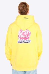 Euphorich Rose Big Hoodie / YELLOW