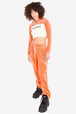 Velour Pants / ORANGE