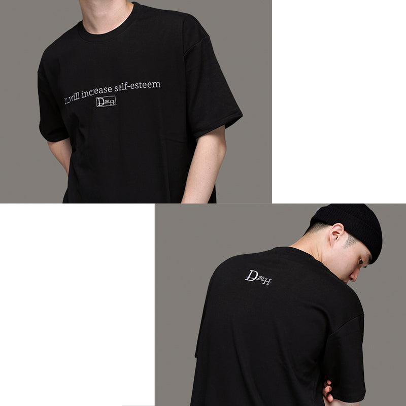 [DXOH] LOGO T-SHIRT 2COLOR - ロゴTシャツ 2カラー
