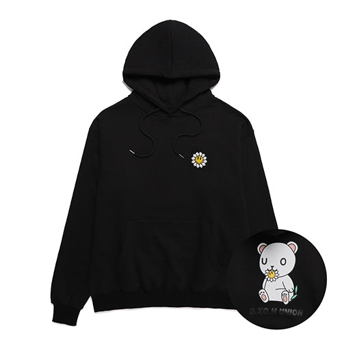 [DXOHxUNION] フラワーベアフーディ / [DXOHxUNION] FLOWER BEAR HOODY