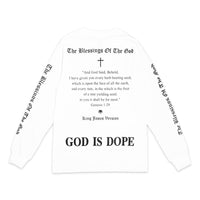 """God is Dope"" L/S Tシャツ 