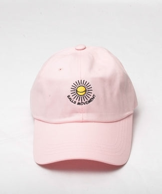 MOVEMENT BALL CAP - PINK