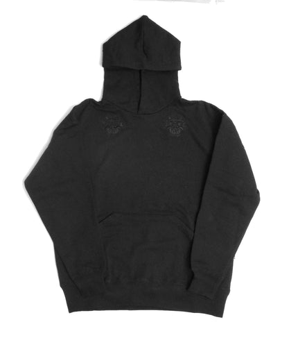 SMALL GOBLIN HOOD - BLACK, CHARCOAL