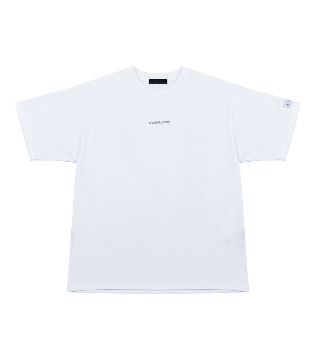 VフラッシュM002Tシャツ / V FLASH M002 T-SHIRT (WHITE)