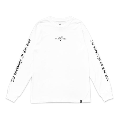 God is Dope L/S Tee White