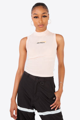 Melrose Sports Crop Top / BEIGE