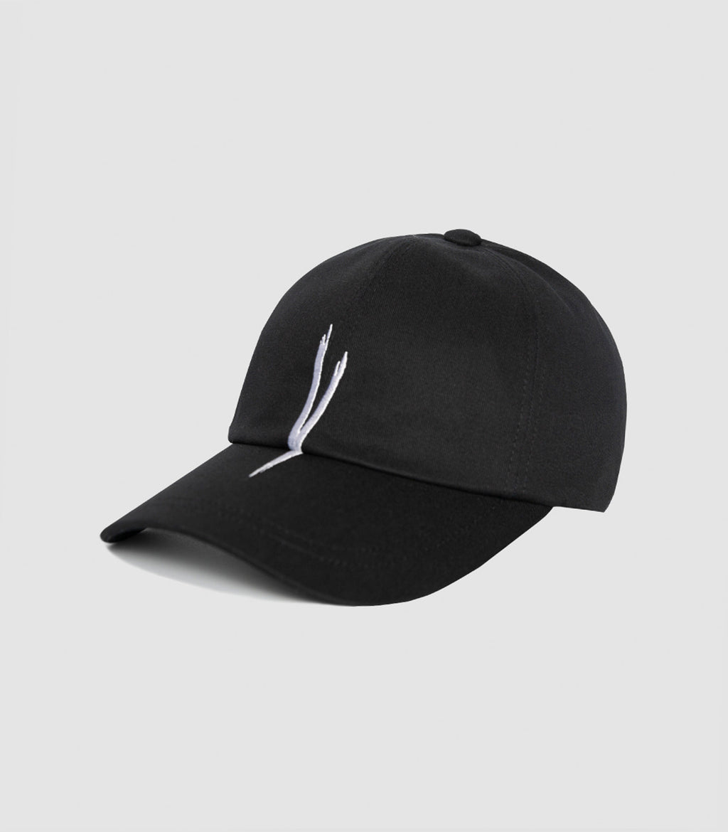 V CHECKING CAP (BLACK)