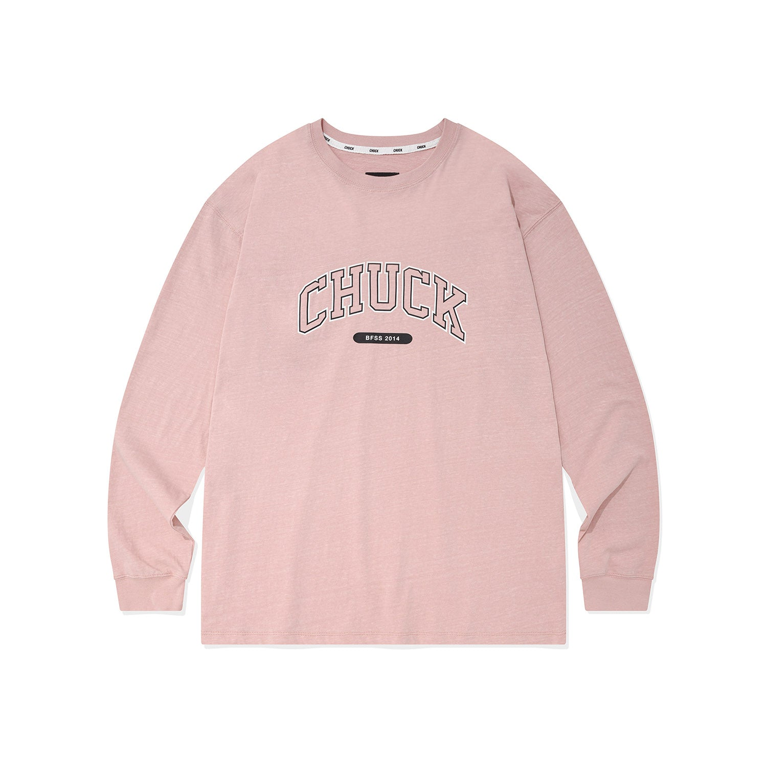 CHUCK BOLD ARCH LOGO L-S T (PINK) (6552810455158)