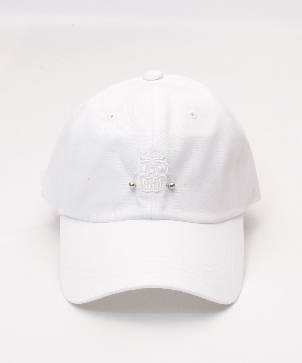 GOBLIN BALL CAP - WHITE