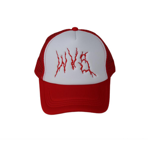 Trucker cap White/Red