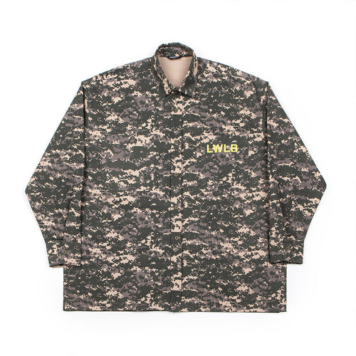 LWLB CAMO BIG SHIRT khaki
