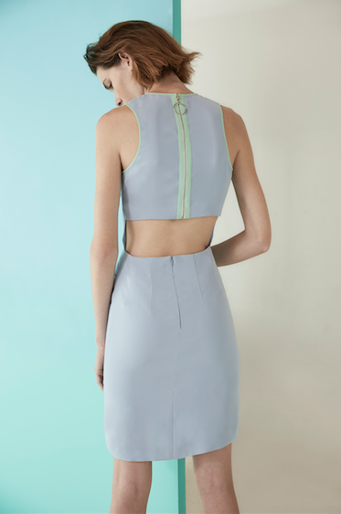 Aurora Dress - Pastel Blue