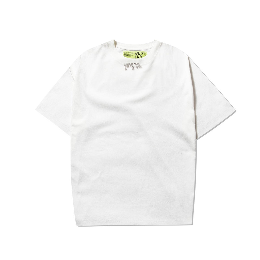 アンアポロジーTシャツ / BEUTER UNAPOLOGETIC WHITE T-SHIRT
