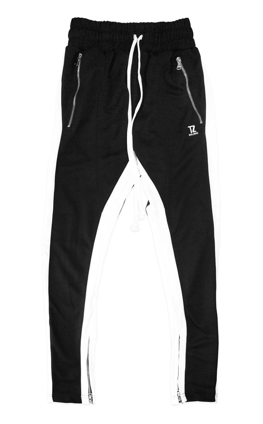 TZ TRACK PANTS (BLACK/WHITE)