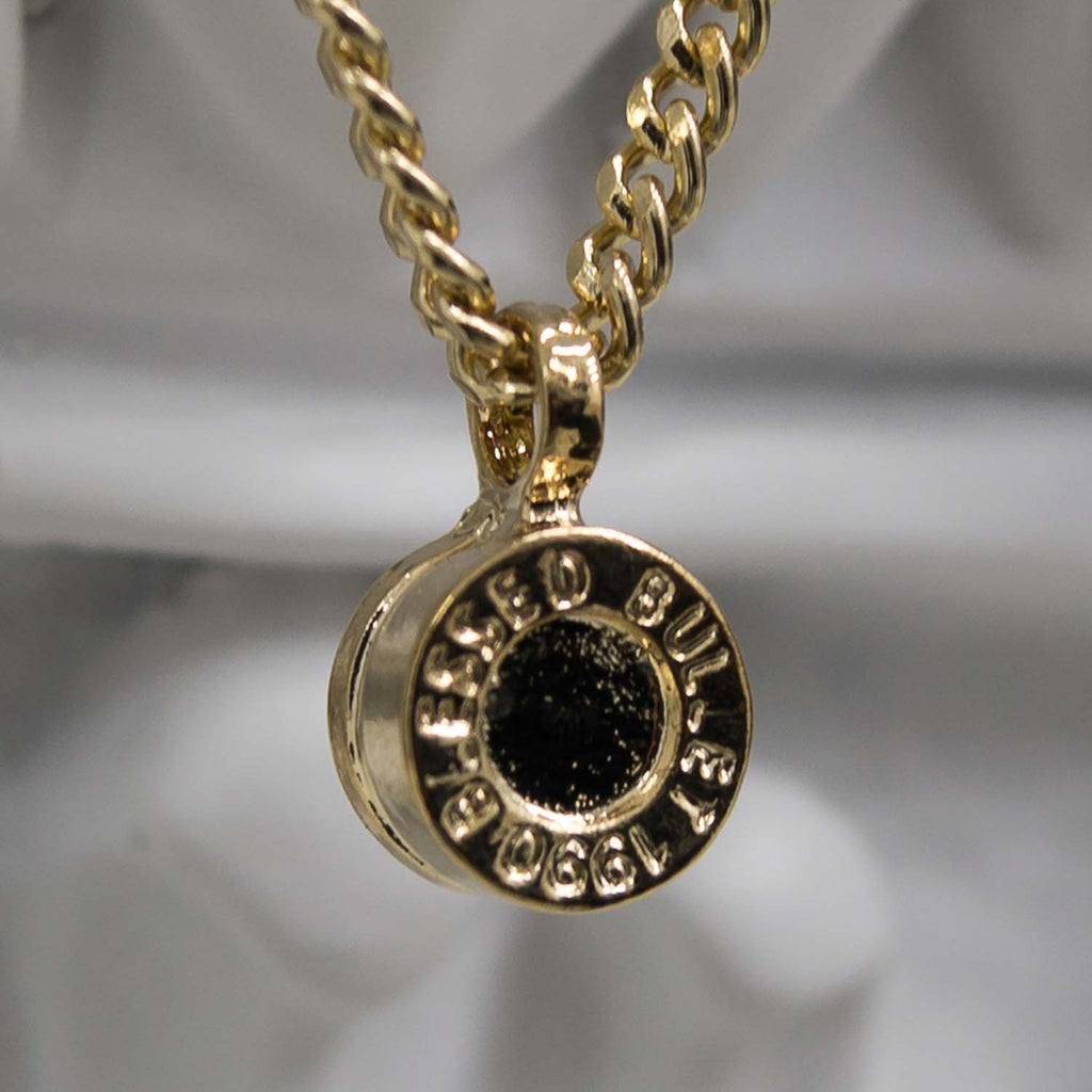 Bullet バックネックレス/Bullet Back Necklace