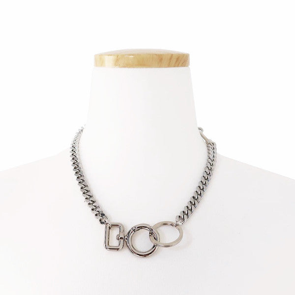 Oリングコネクターネックレス / O RING CONNECTOR NECKLACE